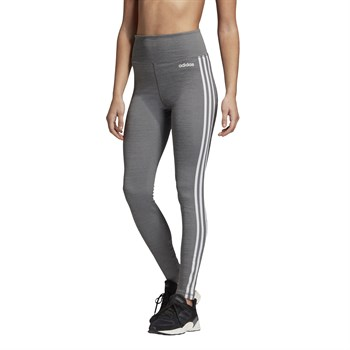 adidas Design 2 Move 3-Stripes High-Rise Long Tights Kadın Tayt
