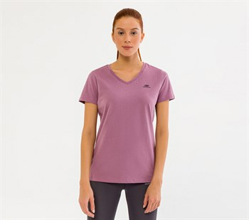 Skechers Graphic Tees M Olk Basic V Neck Kadın Tişört