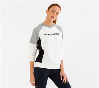 Skechers W LW Fleece Crew Neck Kadın Sweatshirt