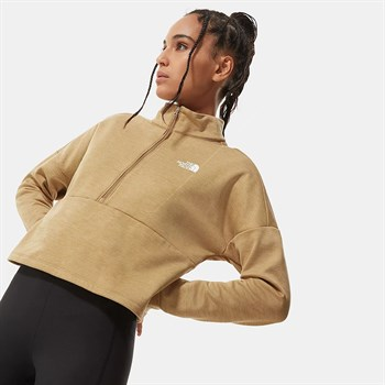 The North Face Active Trail Quarter-Zip Fleece Kadın Sweatshirt